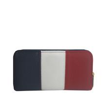 Свежо портмоне в три цвята