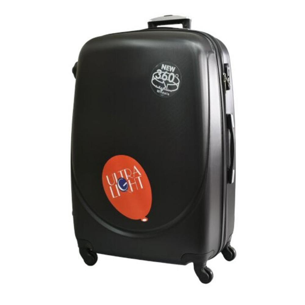 Куфар ABS- голям , 75/31/49 , С разширител , Черен