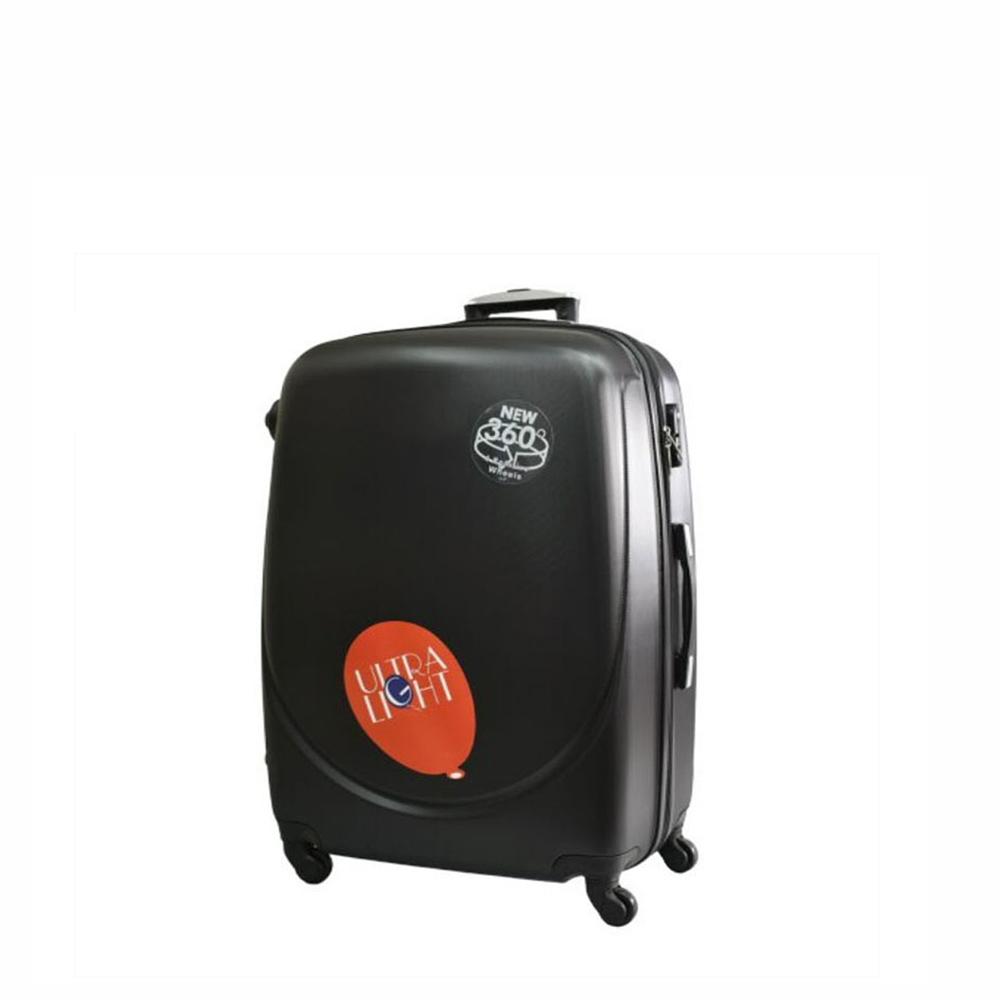 Куфар  ABS - мини , 43/33/20 , С разширител , Черен