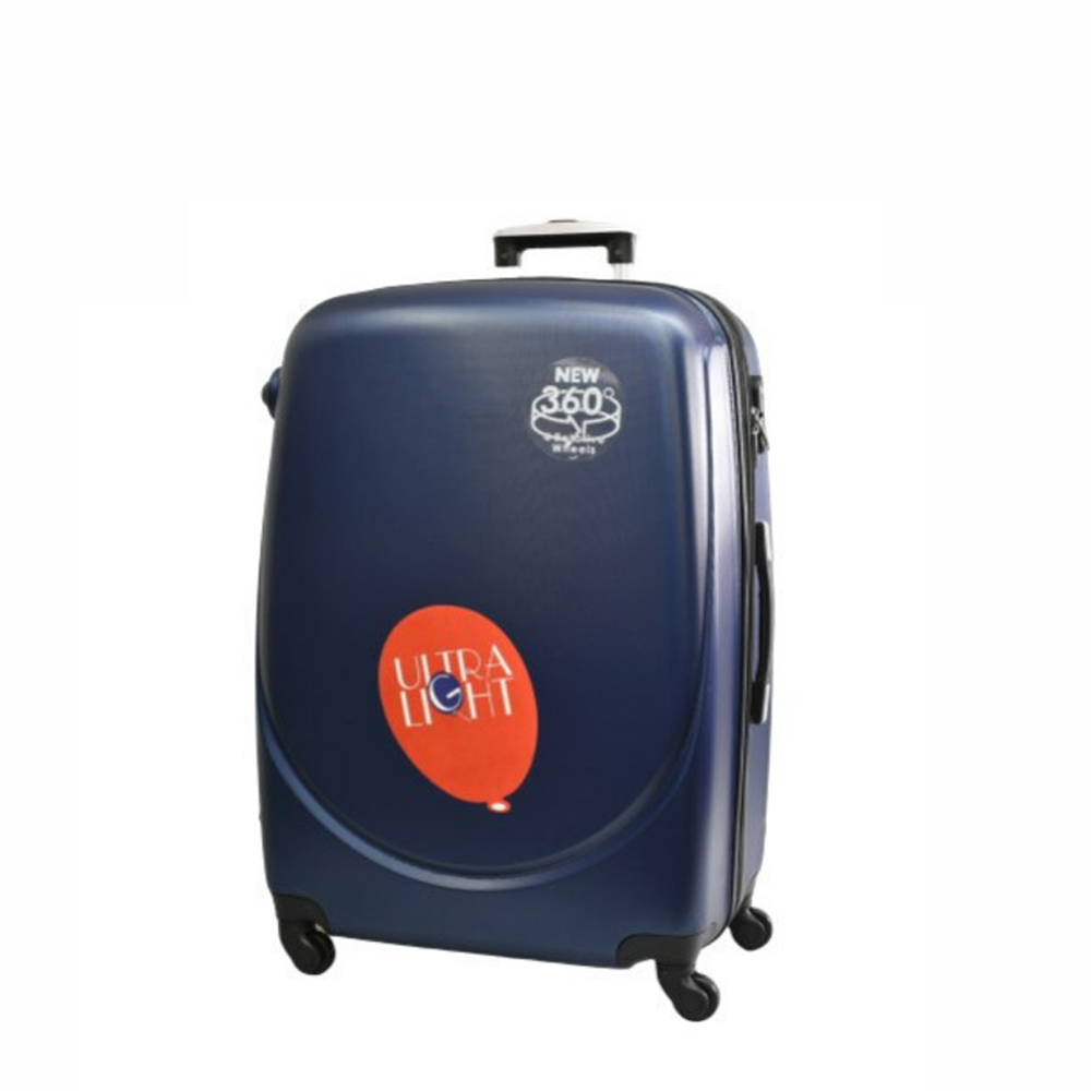 Куфар  ABS - малък , 55/24/38 , С разширител ,Тъмно син