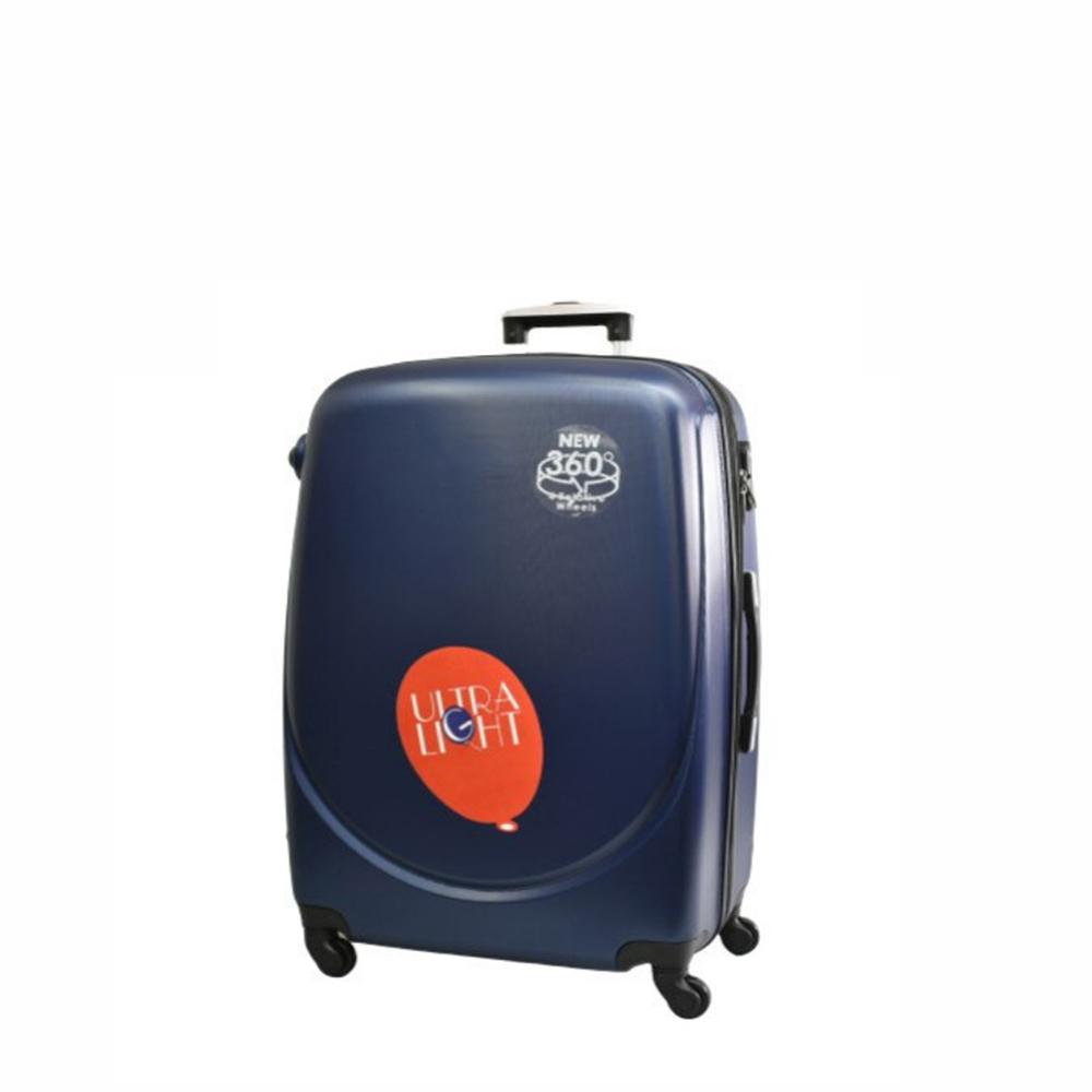 Куфар  ABS - мини , 43/33/20 , С разширител , Тъмно син