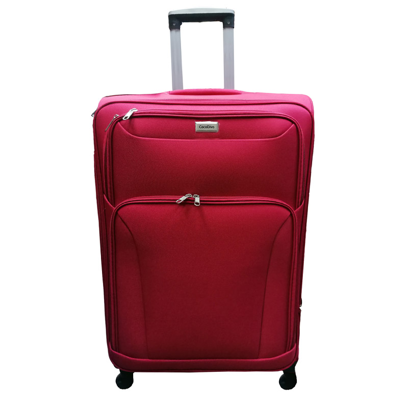 Текстилен куфар на четири колела- голям