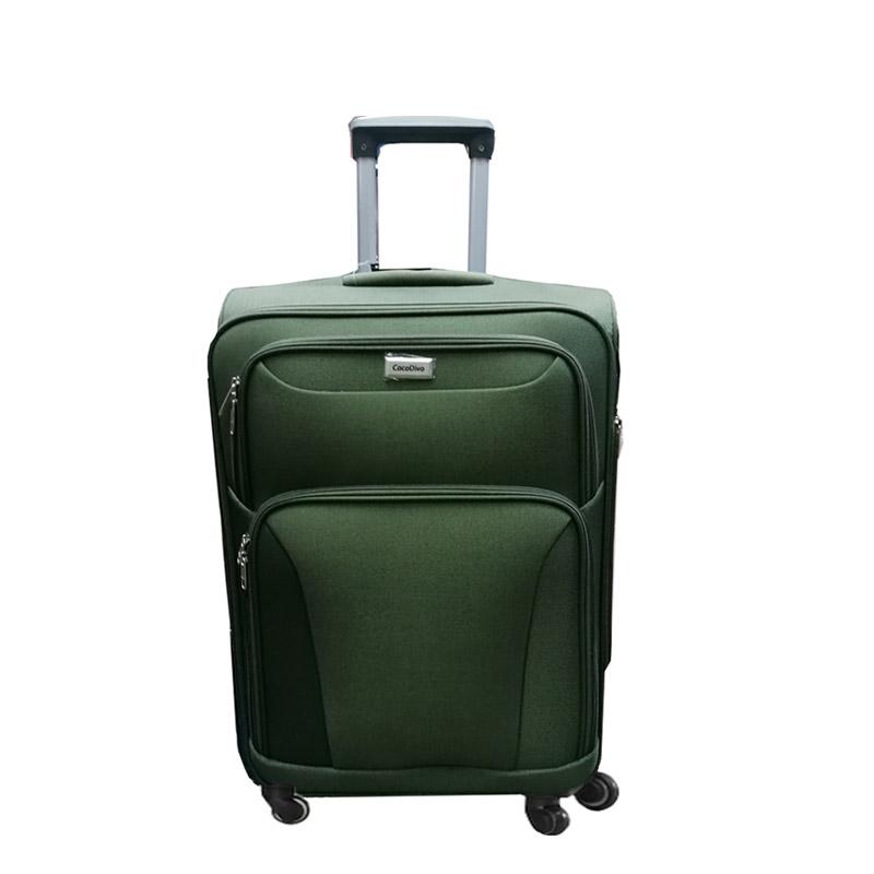 Текстилен куфар на четири колела- малък