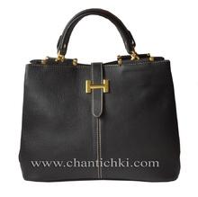 Дамска чанта с дълга дръжка - еко кожа
