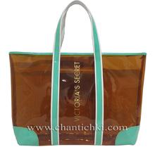 Прозрачна плажна чанта