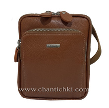 Мъжка чанта - естествена кожа