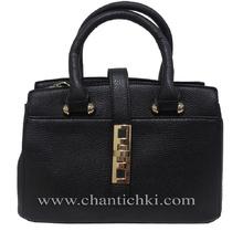 Мини дамска чанта  в черно