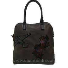 Дамска чанта Елизабет в тъмно кафяво