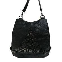 Дамска чанта-раница варена кожа