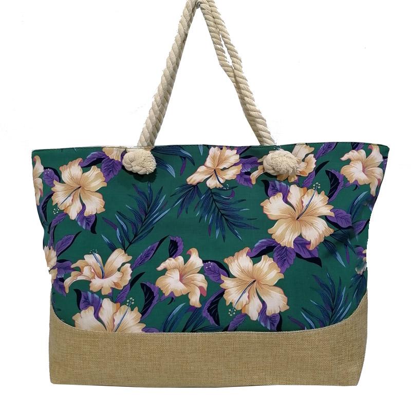 Плажна чанта от плат